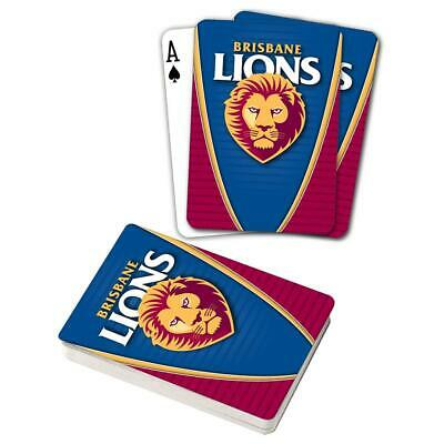 Brisbane Lions Playing Cards
