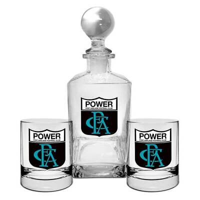 Port Adelaide First 18 Decanter Set