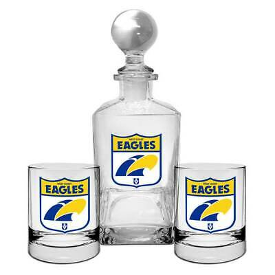 West Coast Eagles First 18 Decanter Set