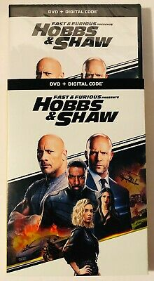 Fast And Furious Presents Hobbs And Shaw (DVD+Digital) BRAND NEW FACTORY SEALED