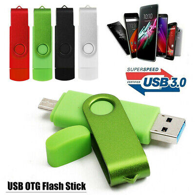 UK 256GB USB 3.0 OTG PC Flash Drive Memory Stick Thumb Pen Drive Storage U Disk