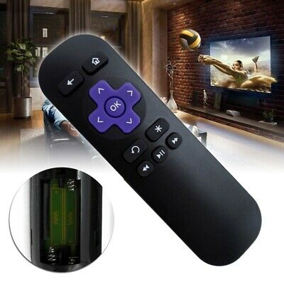 Replacement IR Remote Control for ROKU 1 2 3 4 LT HD XD XS XDS Box Media Player