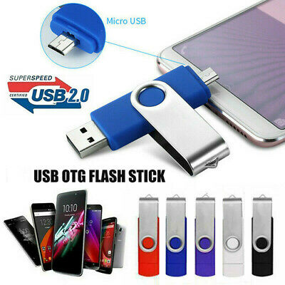 UK 2TB OTG USB 2.0 Flash Drive Memory Thumb Key Stick Pen Storage Computer Phone