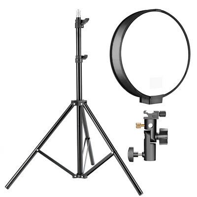 Neewer 2-Pack Photography 16 inches Round Softbox Diffuser with Stand