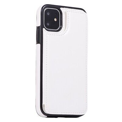 PELLE CUSTODIA PER Iphone 7 Porta Carte di Credito Cover