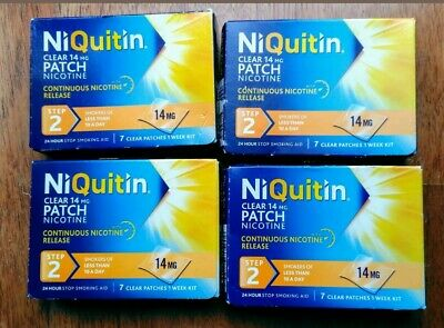 niquitin Patches Step 2 14mg x 28 Patches Only £31.99