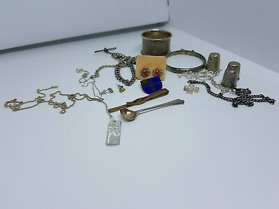Vintage 925 Silver Bundle Mixed Items
