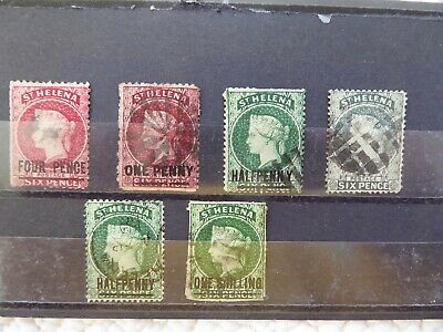 St Helena QV used selection