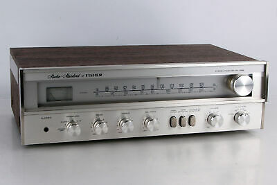 Fisher Studio Standard Receiver Amplifier RS1022 RS-1022 Alu Front Silber