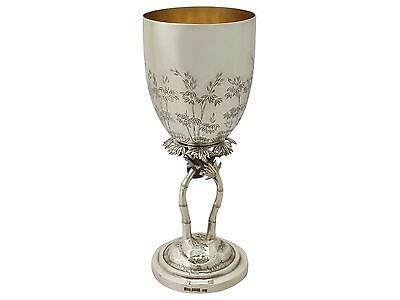 Chinese Export Silver Goblet - Antique Circa 1900