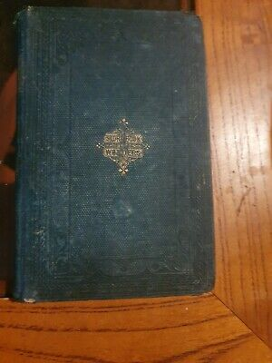 Antique/Vintage hardcover 1800s Book.Published by t.nelson & sons london.