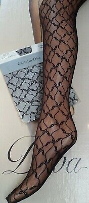 Christian Dior Chantilly Lace Stockings Black