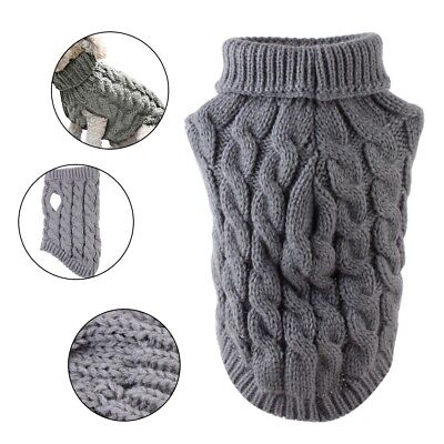 Small Dog Knit Sweater Vest Pet Cat Puppy Coat Jacket Clothes Warm Apparel Gifts