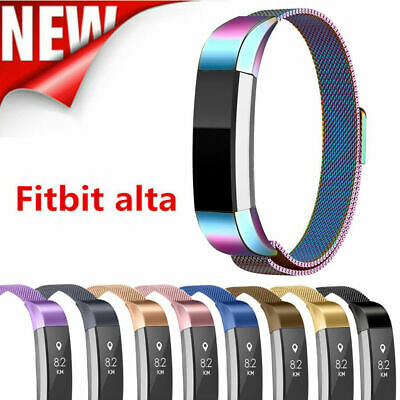 Band Strap Stainless Steel Magnetic Milan Wristband For Fitbit Alta HR Alta ACE