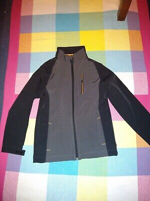 BUNDLE AGE 9-10:NEW base layer top black AND warm soft shell jacket by CRANE