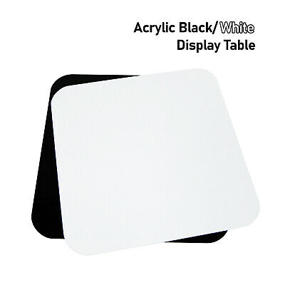 "Photography 12""X12"" Acrylic Black/ White Display Table Reflective for Product"