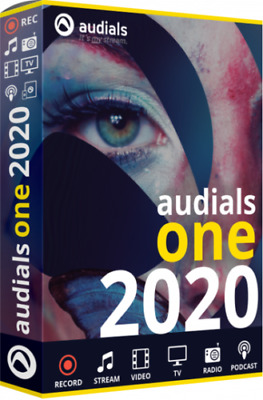 Audials One 2020 Platinum Lifetime License 100% Guarantee Download for Windows