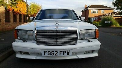 1989 Mercedes 560Sel W126 Lhd Arctic White Totally Rust Free  Ideal Investment