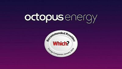 Octopus Energy E-VOUCHER £50 Discount for New Customers | SEE DESCRIPTION!