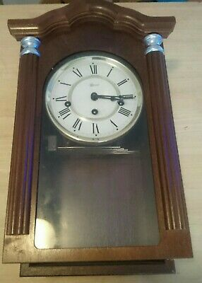 Franz Hermle Westminster  chiming wall clock very nice made in Germany