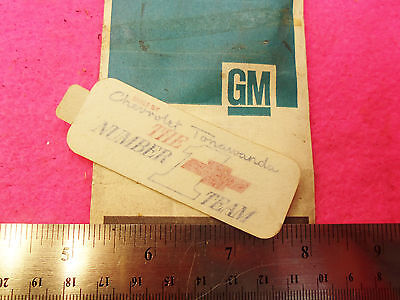 1969 1968 1967 NOS Quality Camaro Spiral Shock Decal Label F41 SS Z28 Front Pair