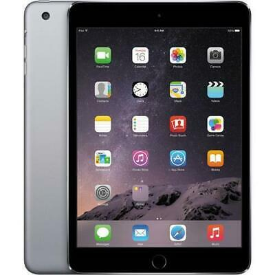 "Apple iPad Mini 2 Retina Tablet, 16GB, WiFi/Cellular, 4G, Grey, 7.9"" Xmas Bundle"