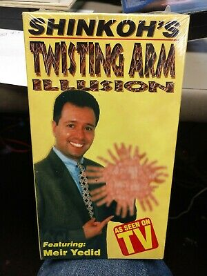 Twisting Arm Illusion Meir Yedid VHS As Seen On TV