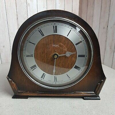 Smiths 8 Day Art Deco Mantle Clock