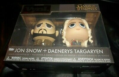 Funko HBO Vynl Collectables and Jon Snow Daenerys Targaryen from Game of Thrones