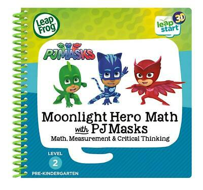 LeapStart 3D Moonlight Hero Maths with PJ Masks - LeapFrog Free Shipping!