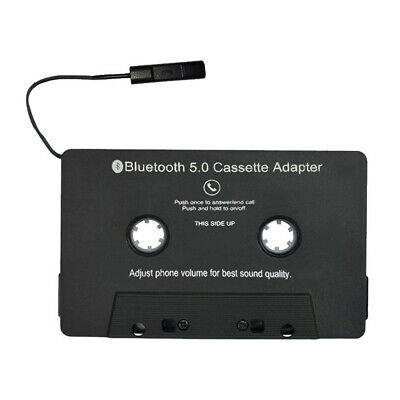 1x Bluetooth Music Audio Receiver Cassette MP3 Player Adapter Adaptor For iphone