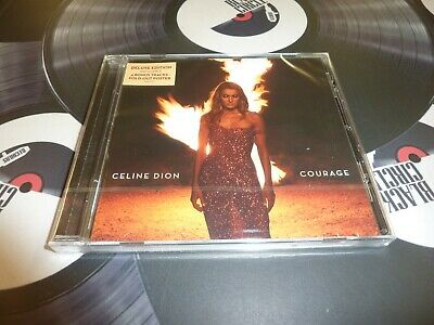 Celine Dion - Courage Deluxe Cd Mint/Sealed