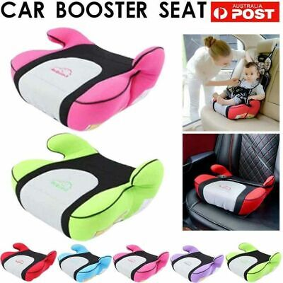 Car Booster Seat Chair Cushion Pad For Toddler Children Kids Sturdy 4-12 years