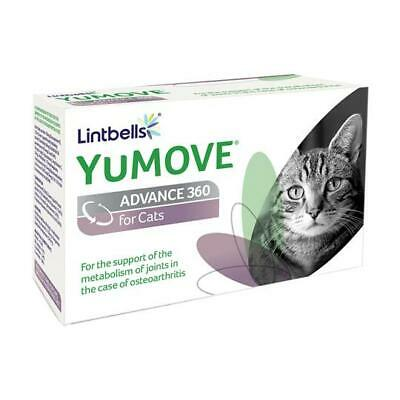 Lintbells YuMove Advance 360 for Cats Joint Aid Supplement Senior Osteoarthritis