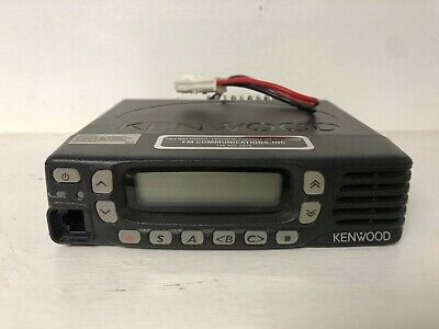 Kenwood Tk-8360Huk, Uhf, 450-520Mhz 45W 128-Channel, Conventional Mobile Radio