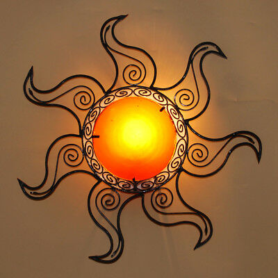 Oriental Lamp Sun Hanging Lamp Ceiling Lamp Moroccan Wall Light D55cm