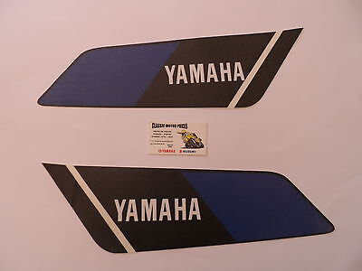 Dtmx 400 Yamaha Annee 1978 Sickers Reservoir /Decal Set For Fuel Tank