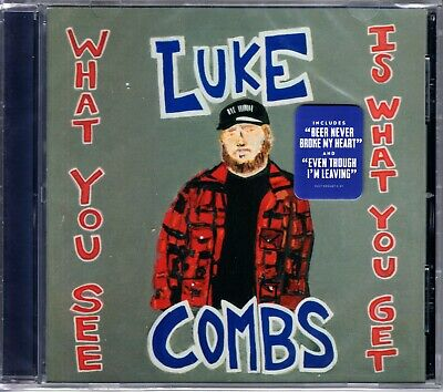 Luke Combs - What You See Is What You Get - Brand New - Factory Sealed CD 2019