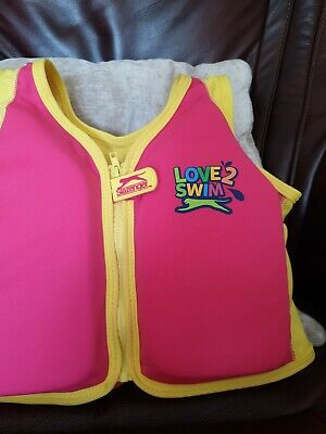 Slazenger Childs Float Jacket Buoyancy Swimming Aid Age 2-3 Years