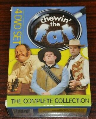 Chewin' The Fat Complete Collection DVD Set Series 1 2 3 4