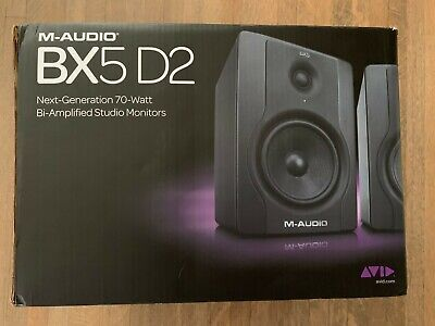M-Audio BX8-D3 Studio Reference Monitor speakers - Black - In Original Box