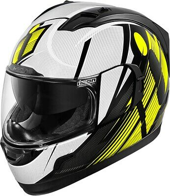 New High/Vis Icon Alliance GT Primary Helmet All Sizes