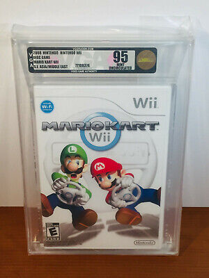 Nintendo Mario Kart (Wii - Rare Uncirculated Copy. VGA High Grade 95)