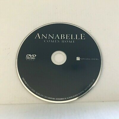 2019 Annabelle Comes Home DVD Disc Only