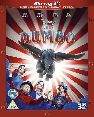Dumbo 3D (Blu-ray 3D+2D) (Region Free) (Includes Slipcover) Brand New Sealed