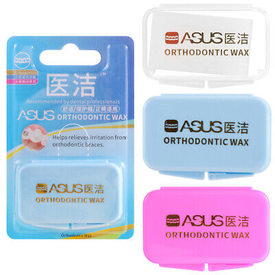 1Box Dental Orthodontics Braces Gum Protection Wax Oral Safety Correction Teeth.