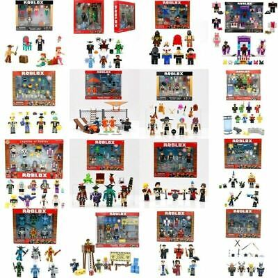 2018Roblox Figures 4pcs/6 Pcs Set PVC Game Roblox Toy Mini Box Package Kids Gift