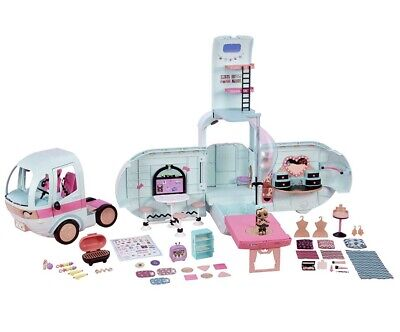 LOL Surprise 2-in-1 Glamper Fashion Camper with 55 Surprises Christmas Present