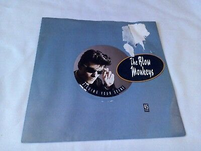 "The Blow Monkeys Digging Your Scene 7"" Single EX Vinyl Record MONK 1 P/S"