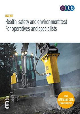 CSCS Card Test Book Health and Safety for Operatives and Specialists 2019 100